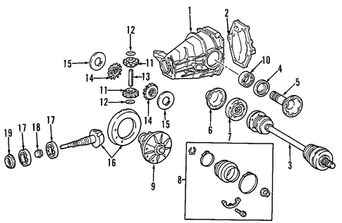 Engine Diagram For 2005 211 Cdi