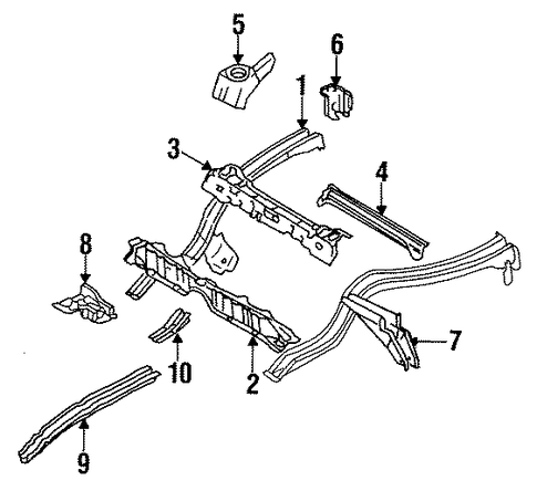 Floor Extension - Toyota (57695-12010)
