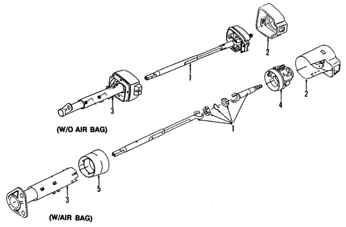 steering column plastic cover  steering  free engine image