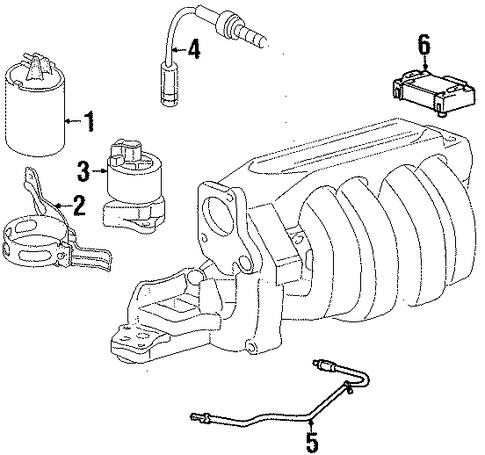 egr system for 2001 saturn sl1