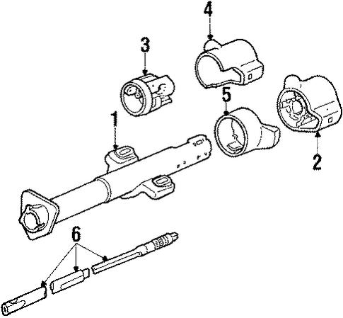 1985 Pontiac Firebird Fuse Box Diagram