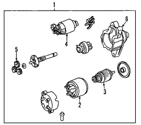 ELECTRICAL/STARTER for 2005 Toyota Avalon #2
