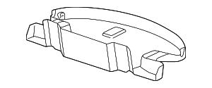 Storage Cover - Toyota (64700-AA010)