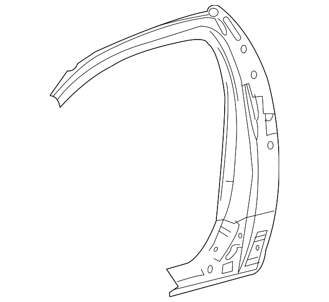Panel Reinforced - Toyota (61504-0C907)