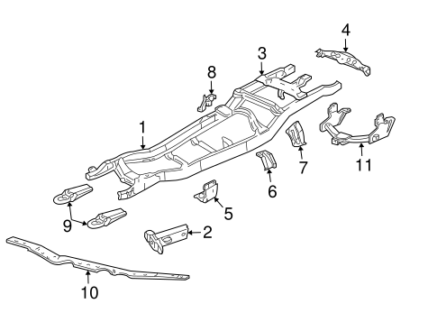 898975 1998 Ford Explorer Exhaust System Diagram besides 6 Suspension Lift 2005 Expedition furthermore 1995 Ford Windstar Parts Catalog in addition 2003 Ford Taurus Cooling System Diagram additionally Ford 4000 Lift Diagram. on 898975 1998 ford explorer exhaust system diagram