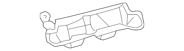 Heater Duct - Toyota (55845-AE010)