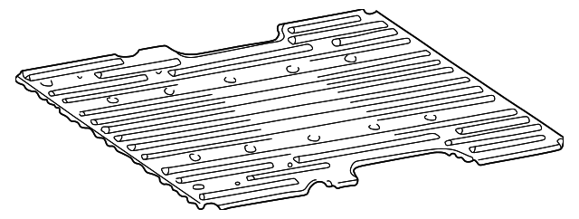 Bed Floor - Toyota (65311-0C010)