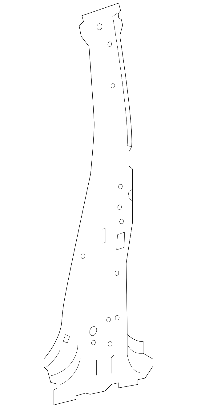 Center Pillar Reinforced - Toyota (61038-0R030)