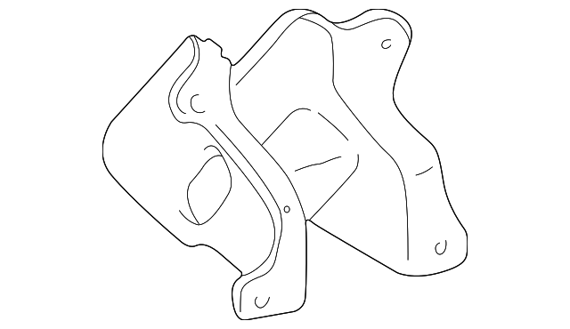 Mount Bracket - Toyota (12311-62070)