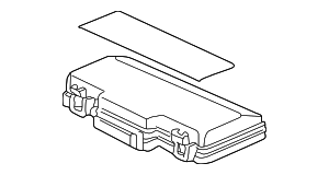 Relay Cover - Honda (38254-S2A-A03)