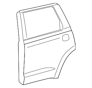 Door Shell - Toyota (67003-0C151)
