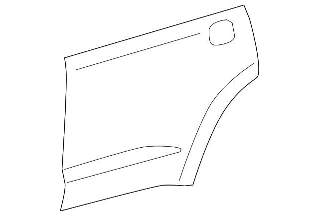 Outer Panel - Toyota (67113-0C080)