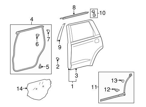 Water Shield - Toyota (67841-0C090)