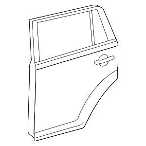 Door Shell - Toyota (67003-12B10)