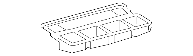 Center Duct - Toyota (55990-12070)