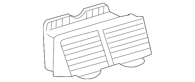 Air Duct - Toyota (55670-21031-B0)