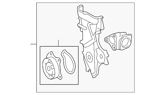 Timing Cover - Toyota (11310-37021)