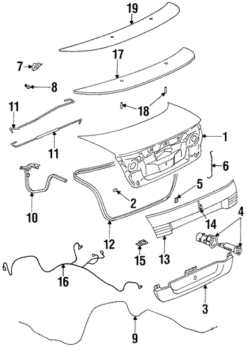 lid  u0026 components for 2002 saturn sc2