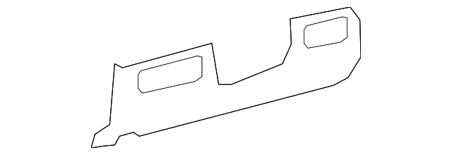 Lower Trim Panel - Toyota (55046-0C071-B0)