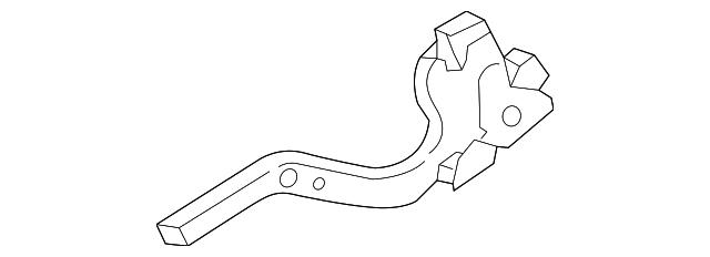 Genuine Toyota Hood Hinge 53410-12680
