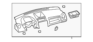 Upper Panel - Toyota (55302-52081-B0)