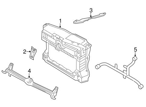 radiator support for 2011 volkswagen jetta