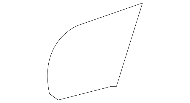 Quarter Panel Protector - Toyota (58748-21010)