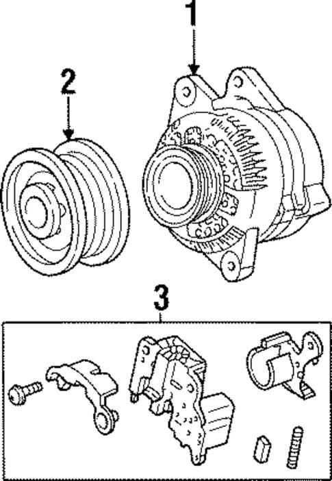 2001 ford escort alternator