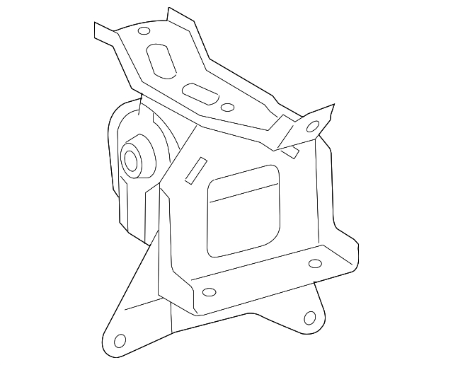 Side Mount - Toyota (12372-37100)