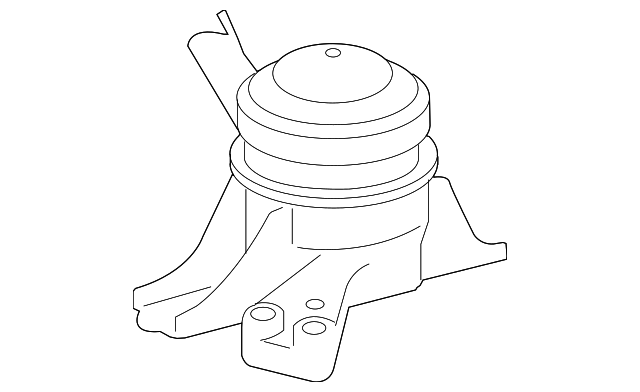 Side Mount - Toyota (12305-37091)