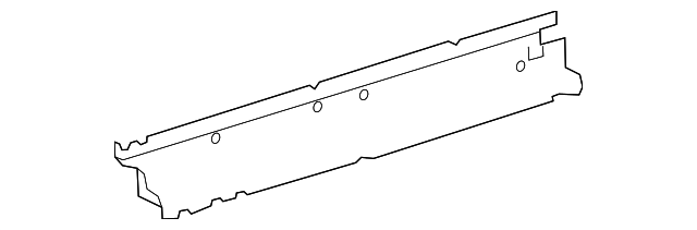 Floor Side Rail - Toyota (57412-74010)