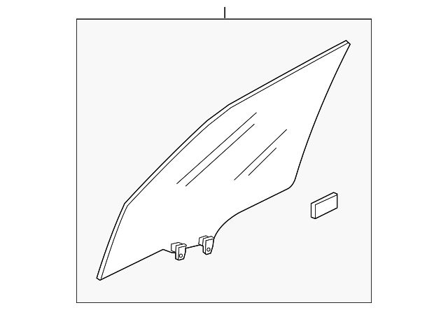 Door Glass - Honda (73350-SZA-A40)