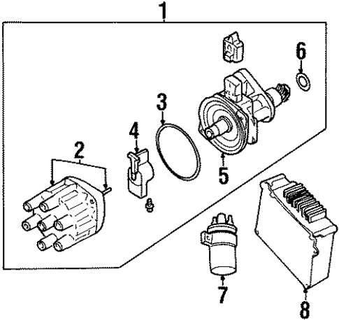 ELECTRICAL/IGNITION SYSTEM for 2000 Chrysler Grand Voyager #1