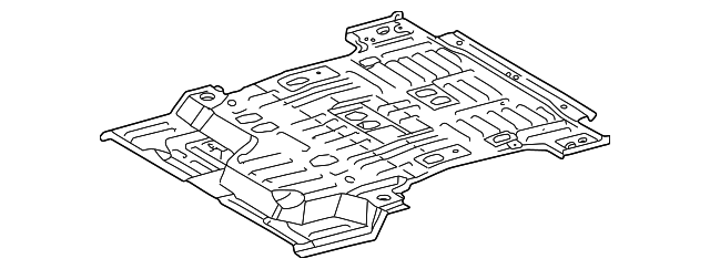 Floor Pan - Toyota (58311-0C022)
