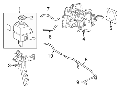 BRAKES/HYDRAULIC SYSTEM for 2015 Toyota Camry #1
