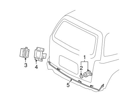 oem electrical components for 2006 chevrolet uplander