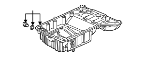 OEM Honda 11200-PCX-000 - Oil Pan