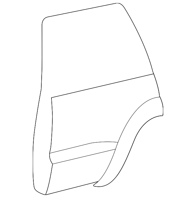 Door Shell - Toyota (67004-60411)