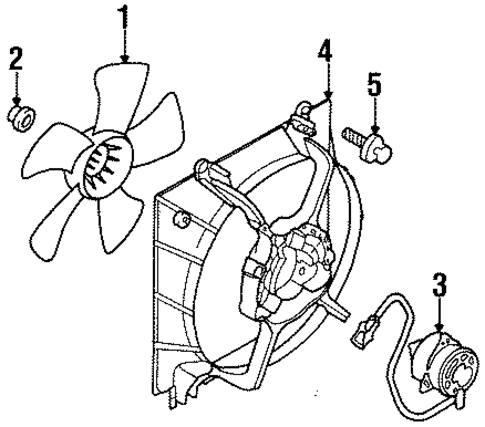 2000 Plymouth Voyager Engine Diagram additionally Change Headlight 2008 Dodge Ram 3500 further Water Pump Scat as well Cooling Fan Scat in addition Water Pump Scat. on 00 caravan cooling fan system