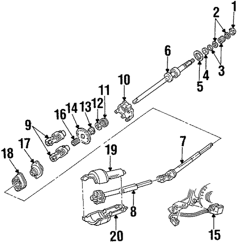 2002 Mercury Grand Marquis Fuse Diagram further Rear Suspension Scat in addition T13259148 Whats fuse number 41 control 2004 ford besides Roof Scat as well Shaft And Internal  ponents Scat. on grand marquis auto parts