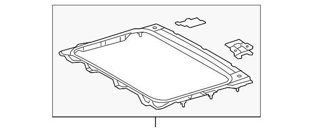 Sunroof Reinforced - Toyota (63107-35010)