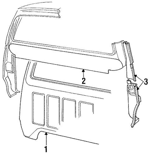 rear panels for 1987 dodge d150