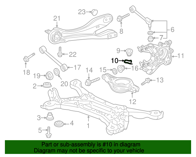 2013 Honda CIVIC COUPE EX (NAVI) CLIP, ARM (UPPER) - (90701SX0003)