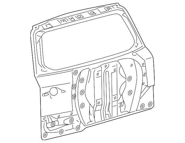 Door Shell - Toyota (67005-0R020)