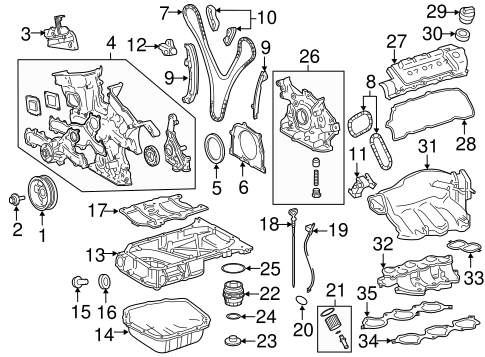 Chain Guide - Toyota (13559-0P010)