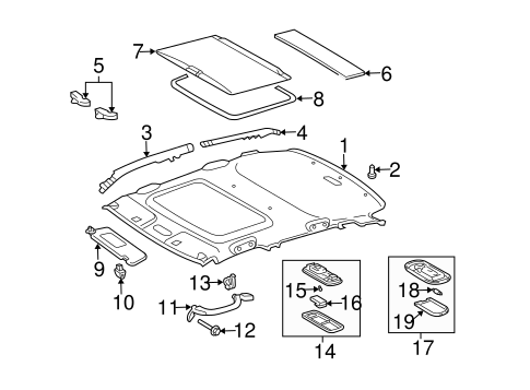 ELECTRICAL/SUNROOF for 2005 Scion xA #1