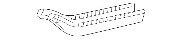 Side Reinforced - Toyota (57043-08010)