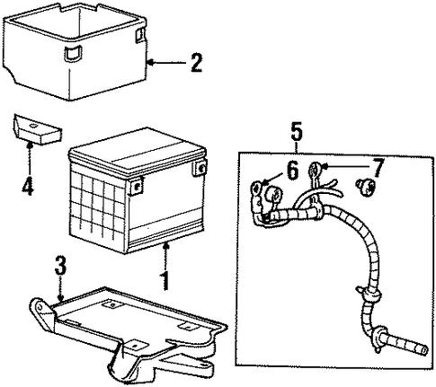 chevrolet parts catalog auto battery