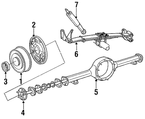 rear brakes for 1988 ford e
