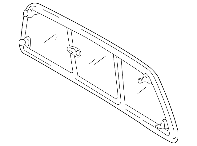Back Glass - Toyota (64810-0C041)